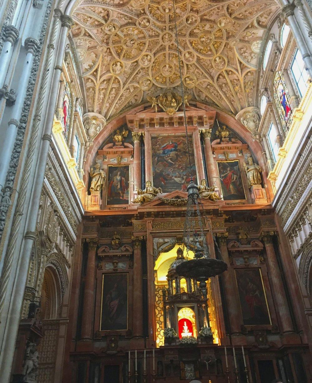 Catholic elements of the building.