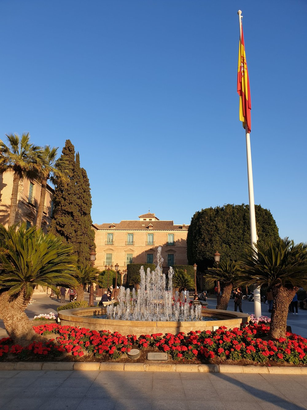 Everything about Murcia is cheerfully red!