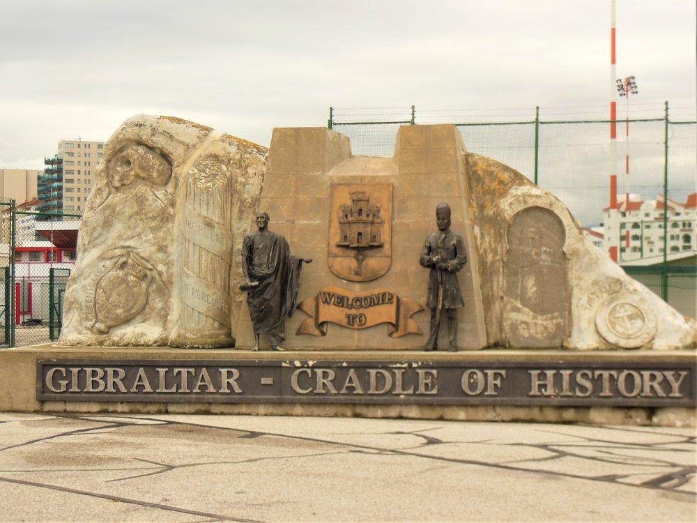 Gibraltar monument