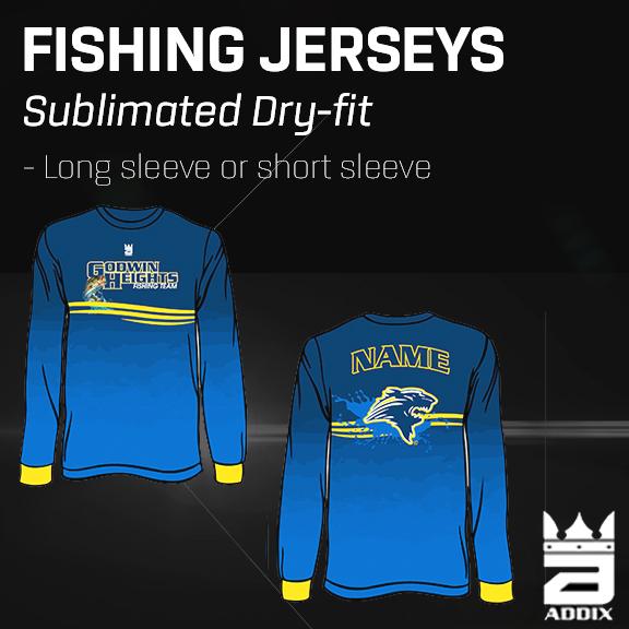Custom Fishing Jerseys