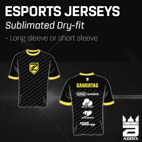 Custom eSports Jerseys