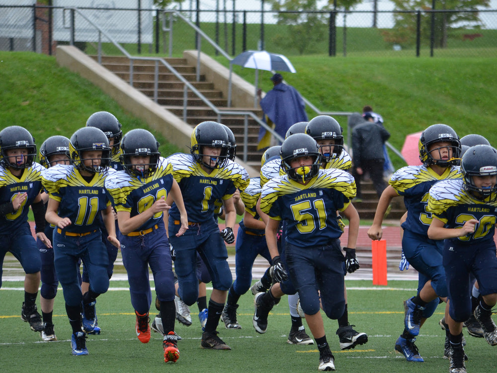 Hartland Custom Youth Football Jerseys