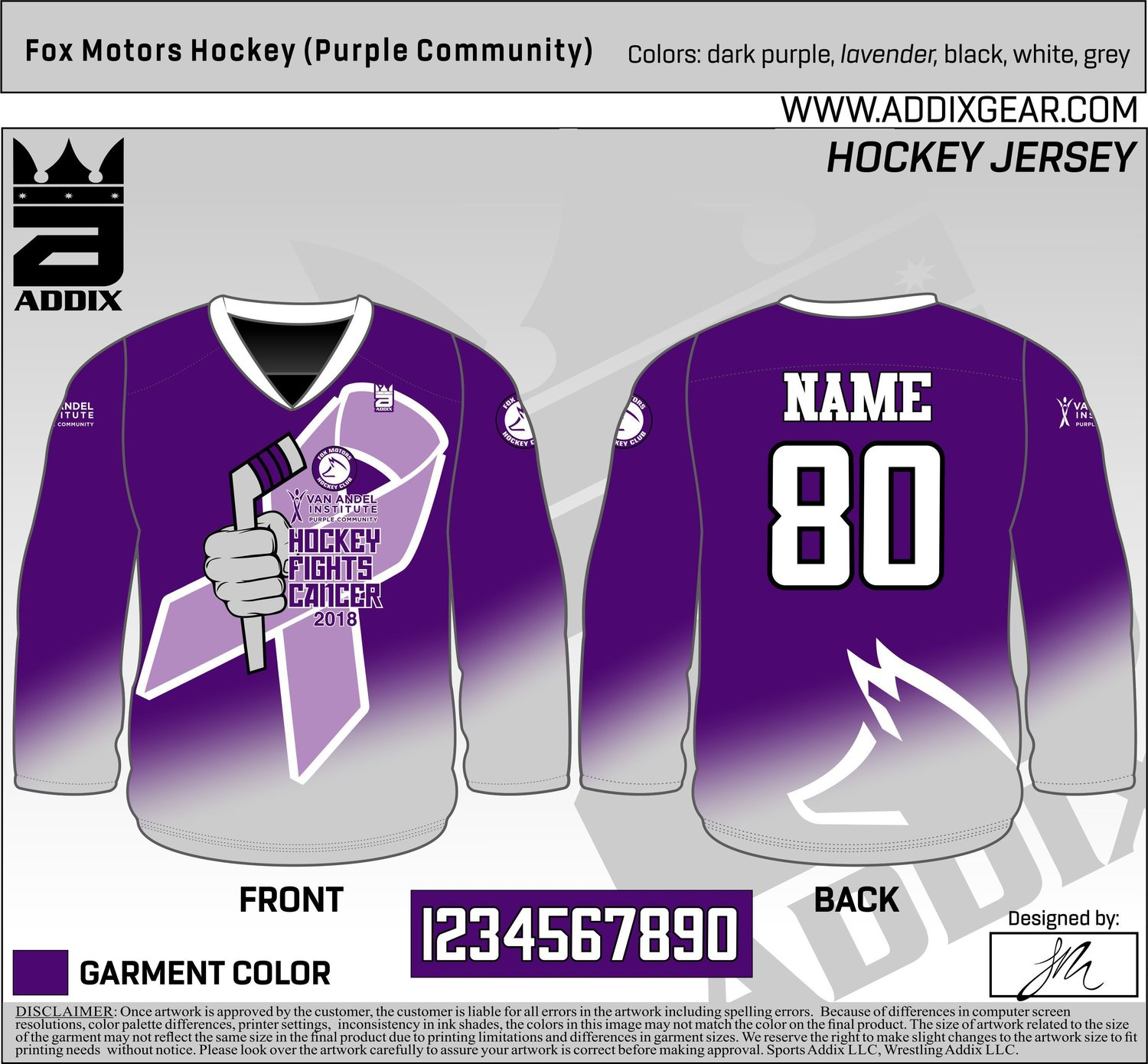 big sale 19a94 1940f Hockey Fights Cancer - Special Jerseys and a Great Cause ...