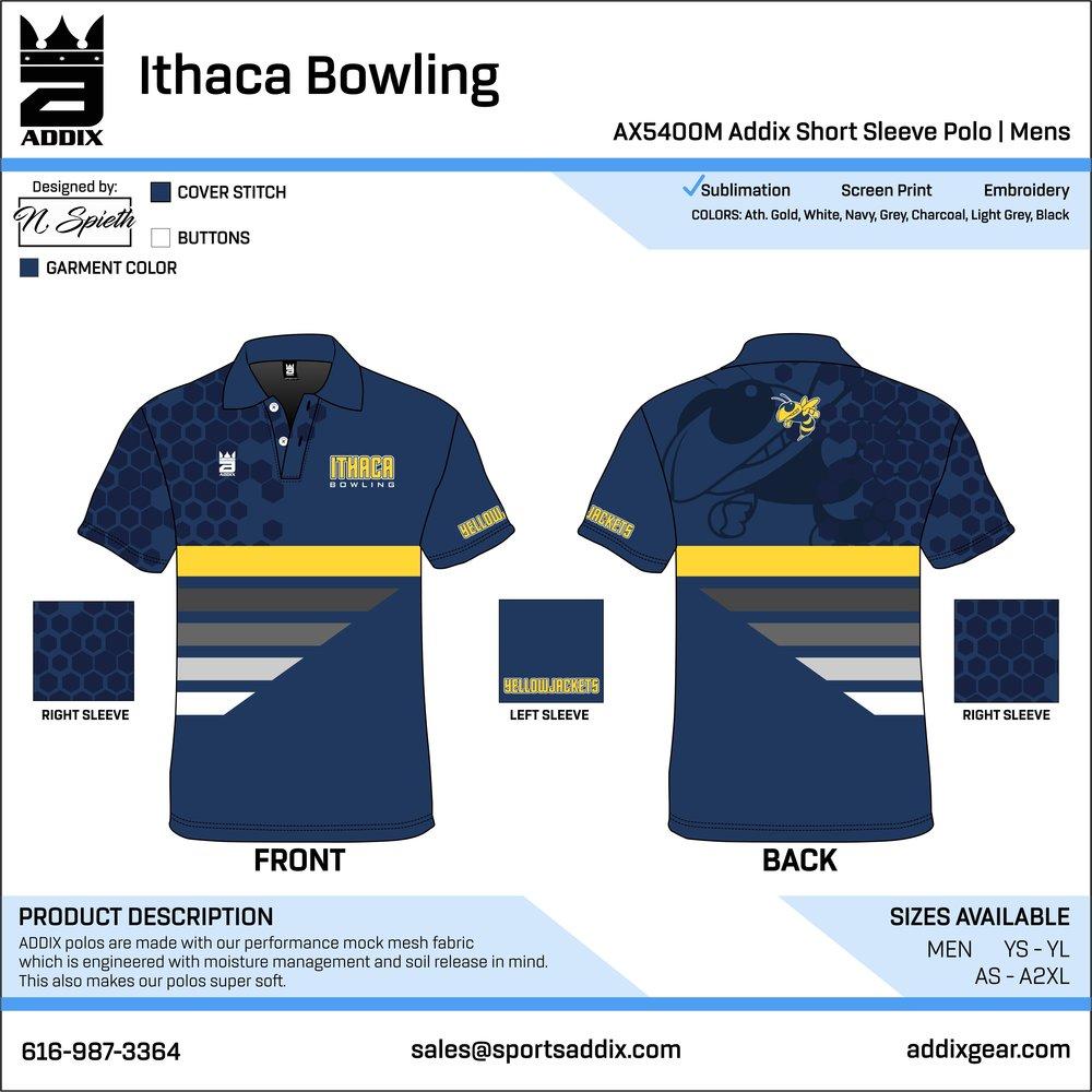 7567787a6 BOWLING POLOS — ADDIX Custom Team Gear
