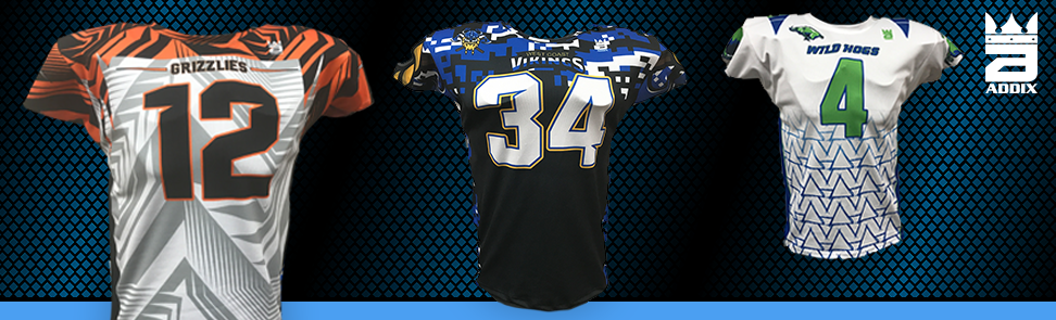 0e5c5b83c Custom Football Jerseys and Uniforms — ADDIX Custom Team Gear