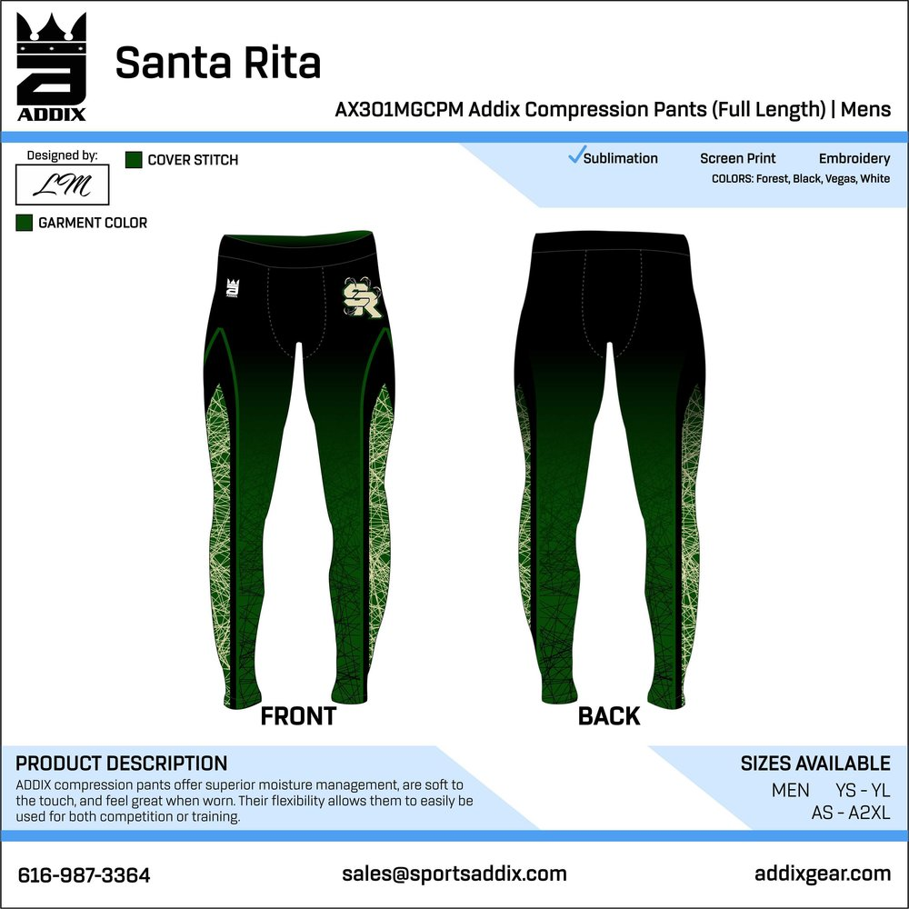 COMPRESSION PANTS — ADDIX Gear