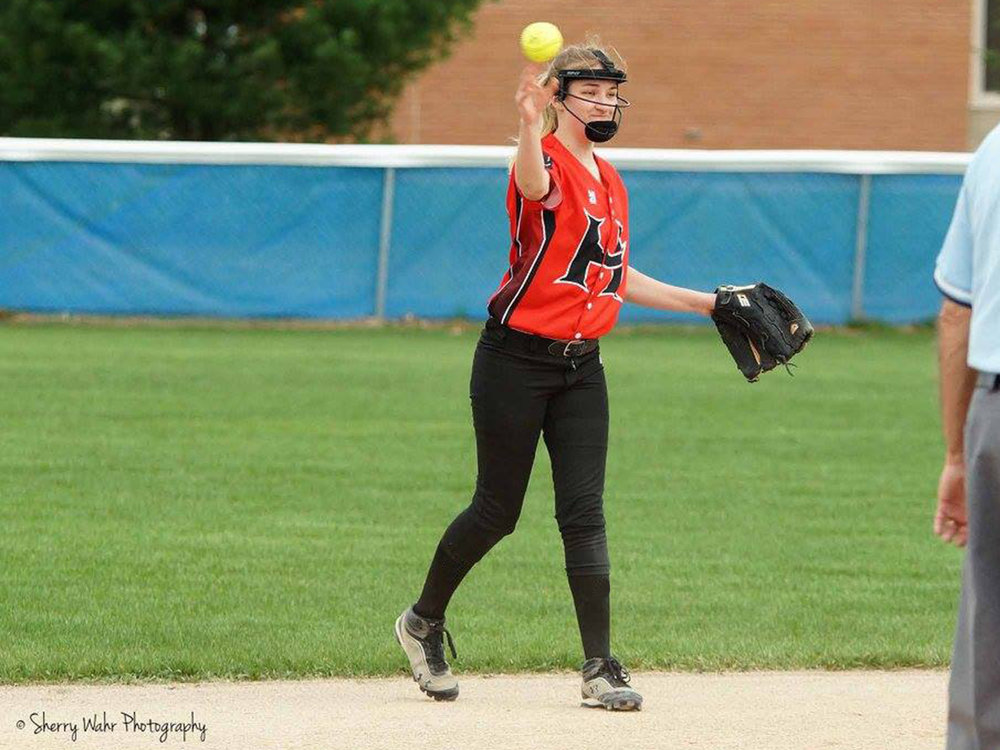 Hart High School Custom Softball Jerseys 2