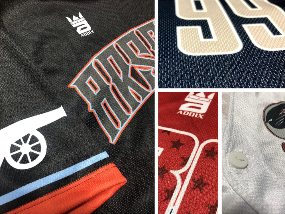 Custom Softball Jerseys Fabric