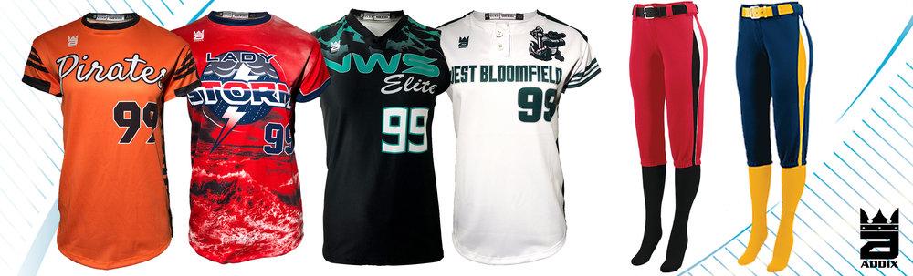 Custom Softball Uniforms
