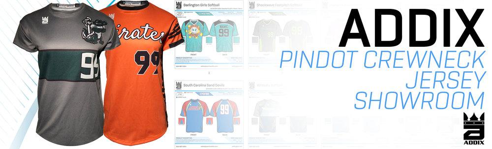 Custom Pindot Softball Jerseys Showroom