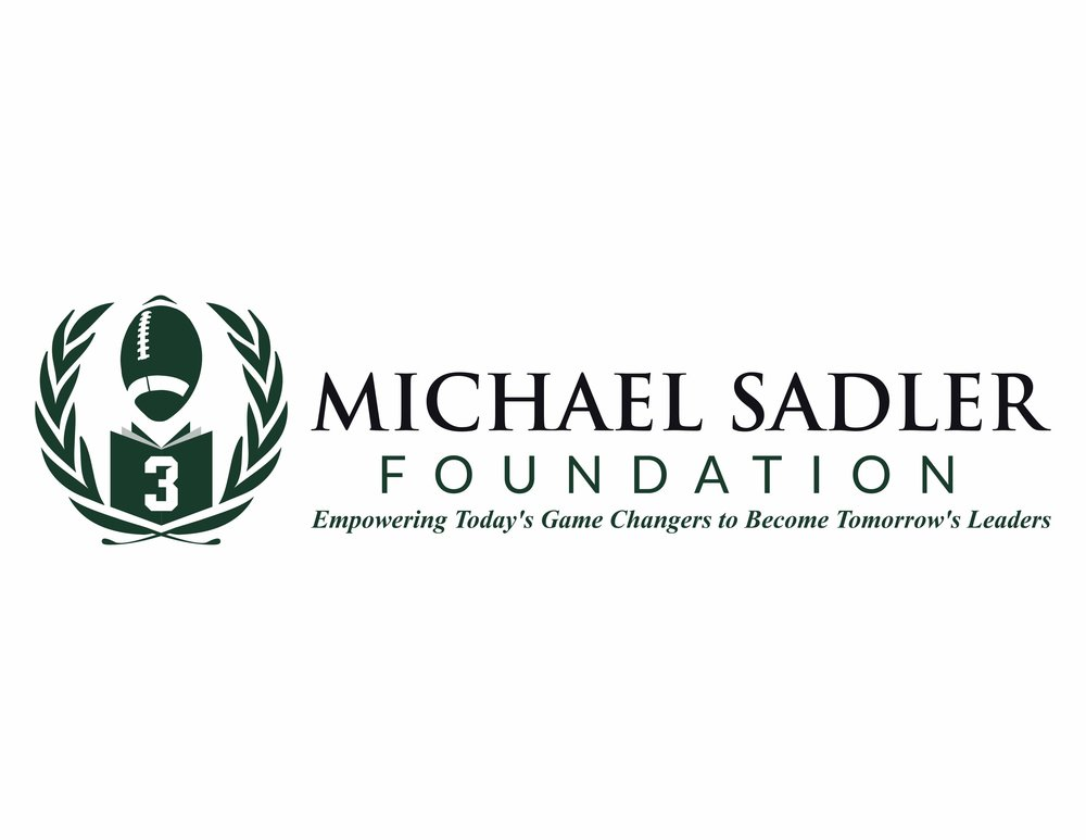 Michael Sadler Foundation - The Michael Sadler Foundation exists to develop programs and awards that emphasize the values Michael embraced: academic excellence, athletic achievement, leadership and character strength.Phone: 616-808-8088Email: info@michaelsadlerfoundation.comWebsite: www.michaelsadlerfoundation.org