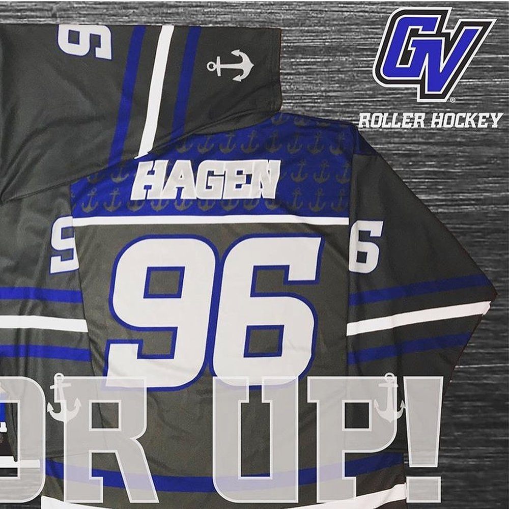 Grand Valley State Roller Hockey Graphic 2