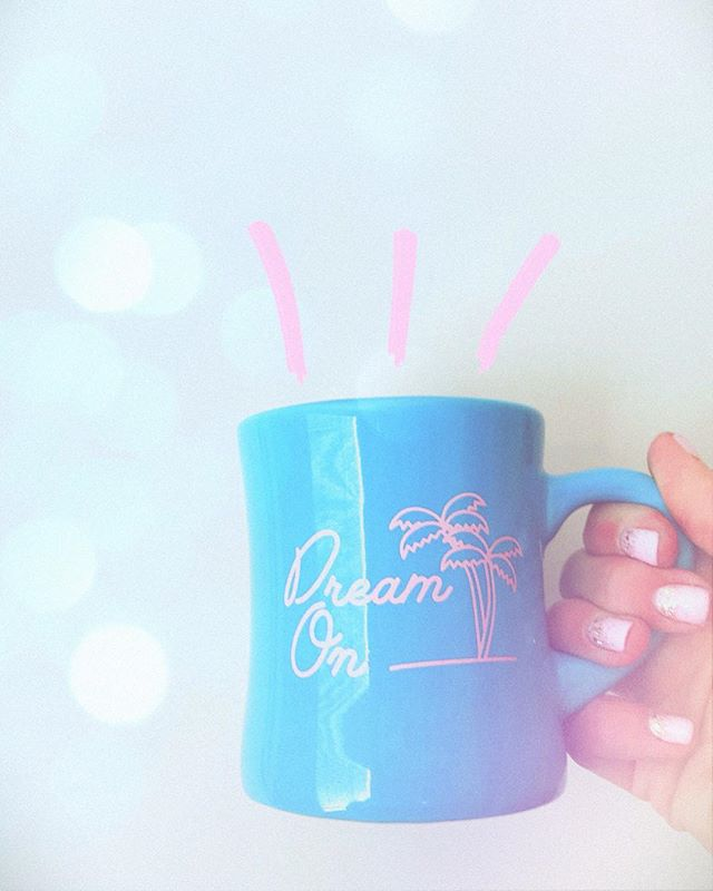 Keep dreaming lovies! National Coffee Day is one of my favorite made up holidays ☺️☕️ What is your go-to coffee drink? • Click to get this mug into your collection. #sheslightning #nationalcoffeeday