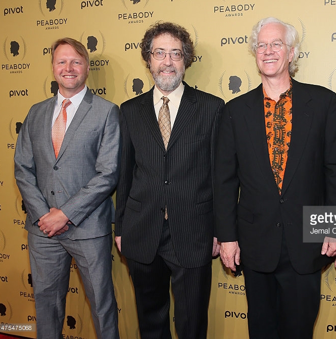 Mike, Sean, and Banning at 2014 Peabody Awards in NYC