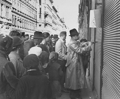 Persecution of Jews in Germany in 1938