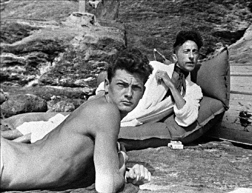 Bare chested young man : Jean Cocteau