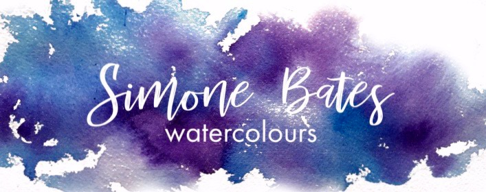 Simone Bates watercolours