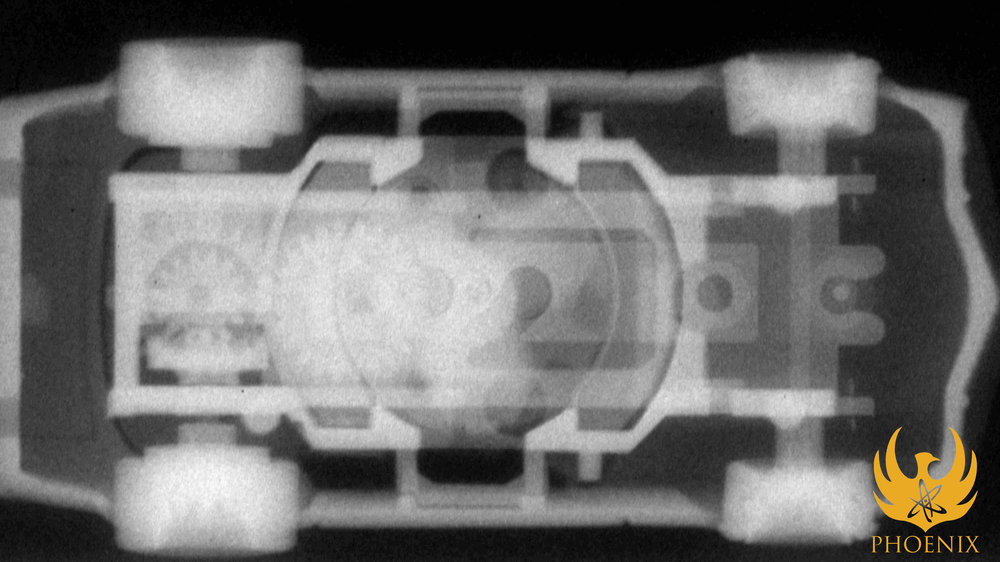 Neutron Radiography - Racecar