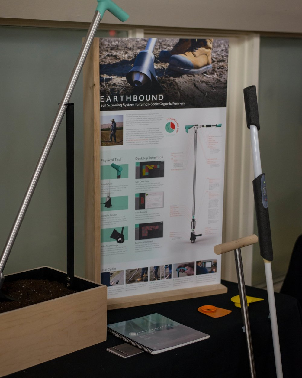 Earthbound on display at Rocket 2017.