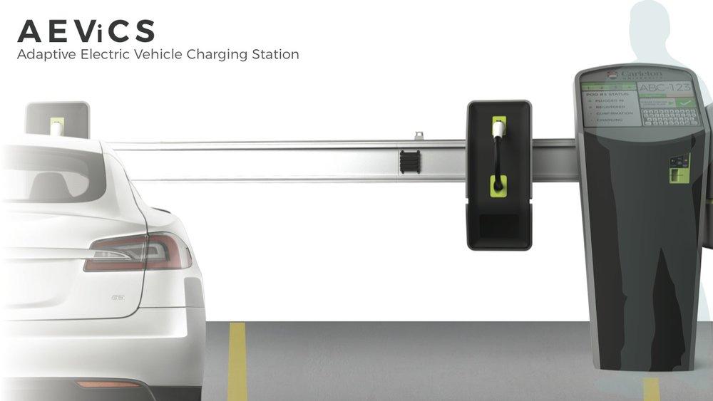 Rocket Finalist      Simon Bontempo  with  AEViCS: Adaptive Electric Vehicle Charging Station