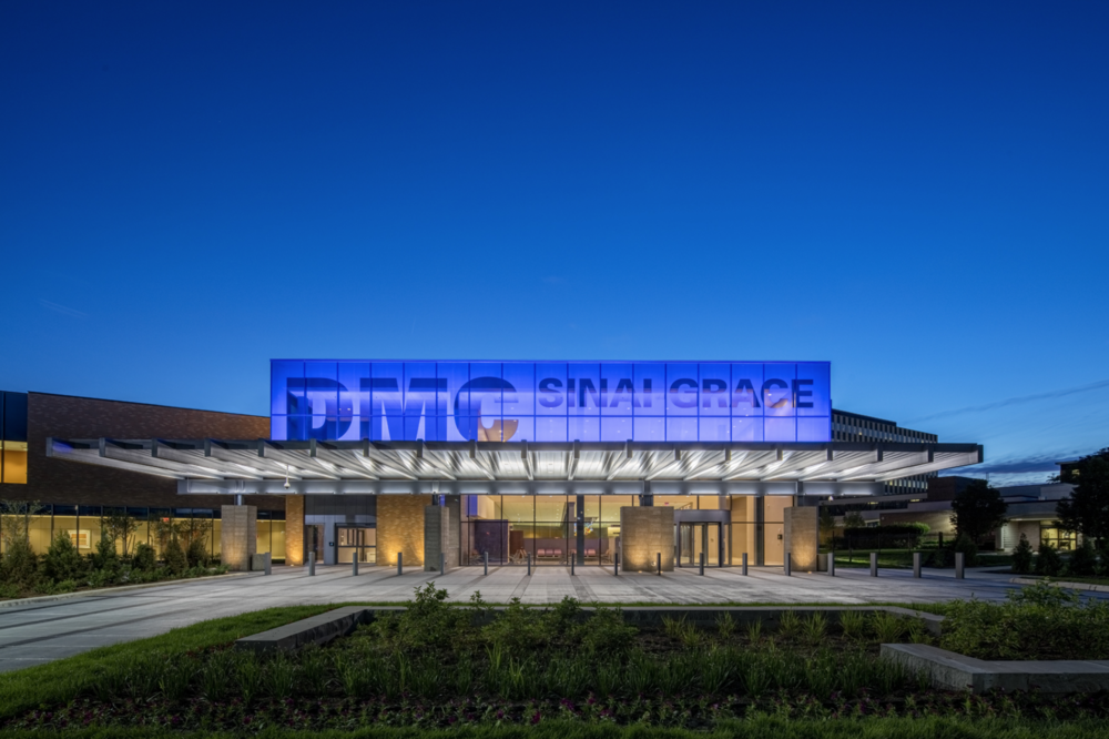 DMC Sinai-Grace Hospital ED Expansion- SmithGroupJJR