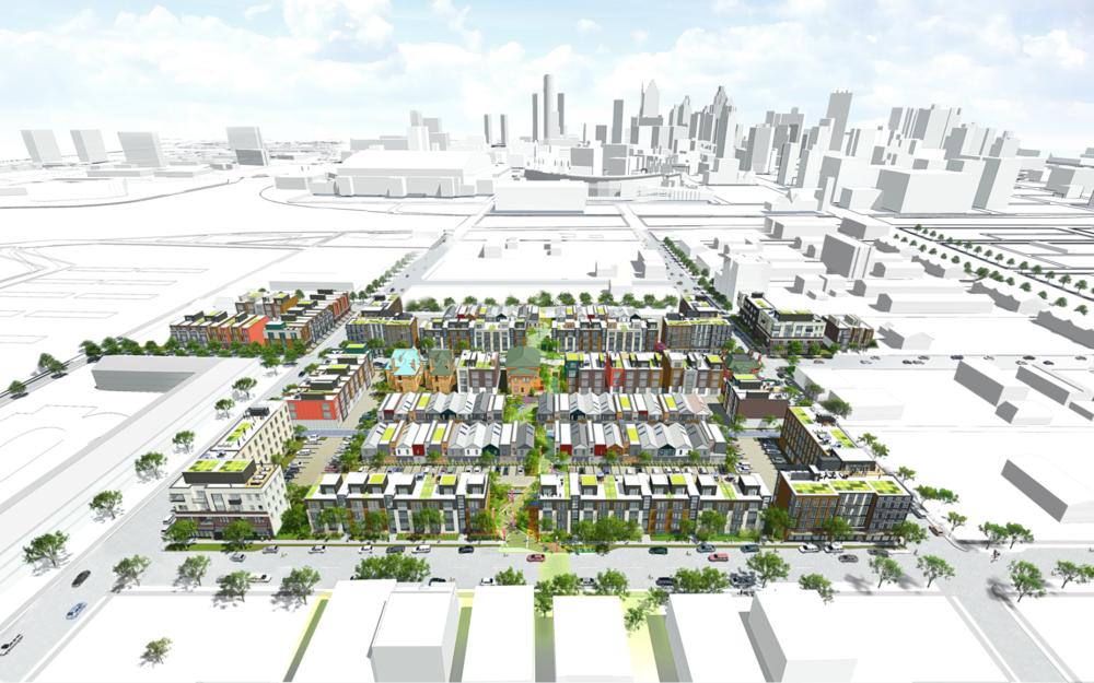 City Modern Master Plan - Hamilton Anderson Associates