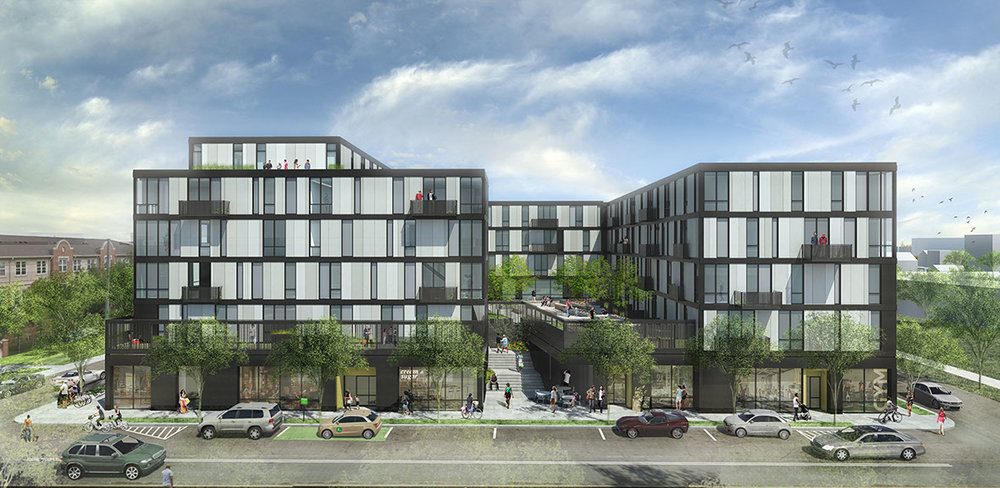 City Modern Flats - Hamilton Anderson Associates