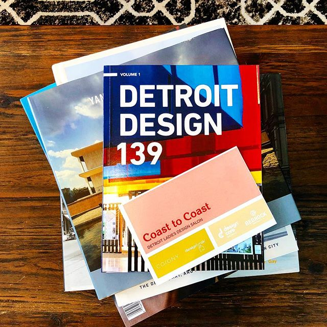 Be sure to check out the article @colonydesign posted on Detroit's Design! Link in Bio. #detroit #detroitdesign #detroitdesign139 #coasttocoast #colonydesign #designmilk #dd139