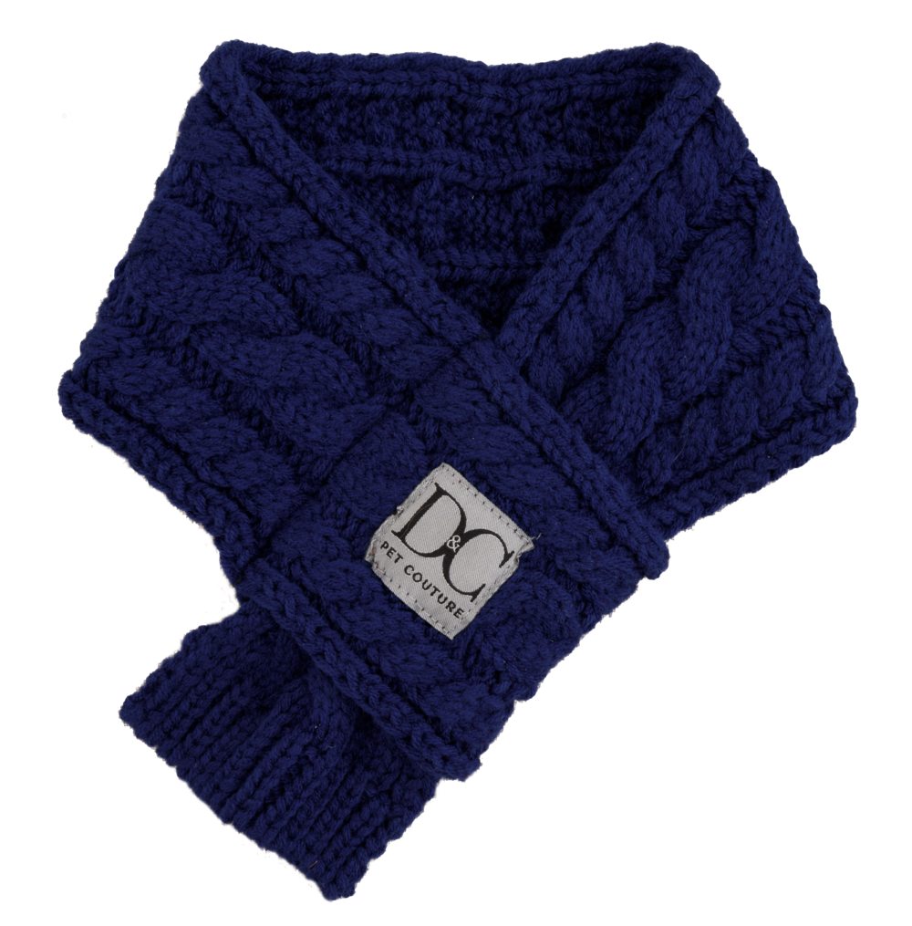 Bella Scarf,Oxford Blue - Available in 3 Sizes