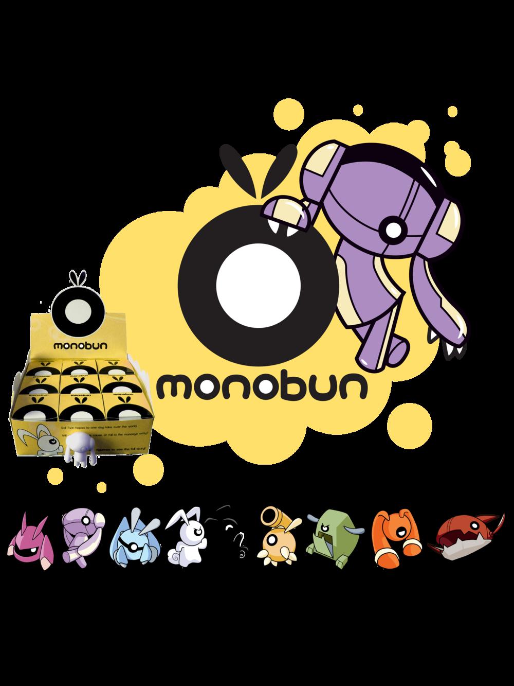 Monobun vinyl figure concept art