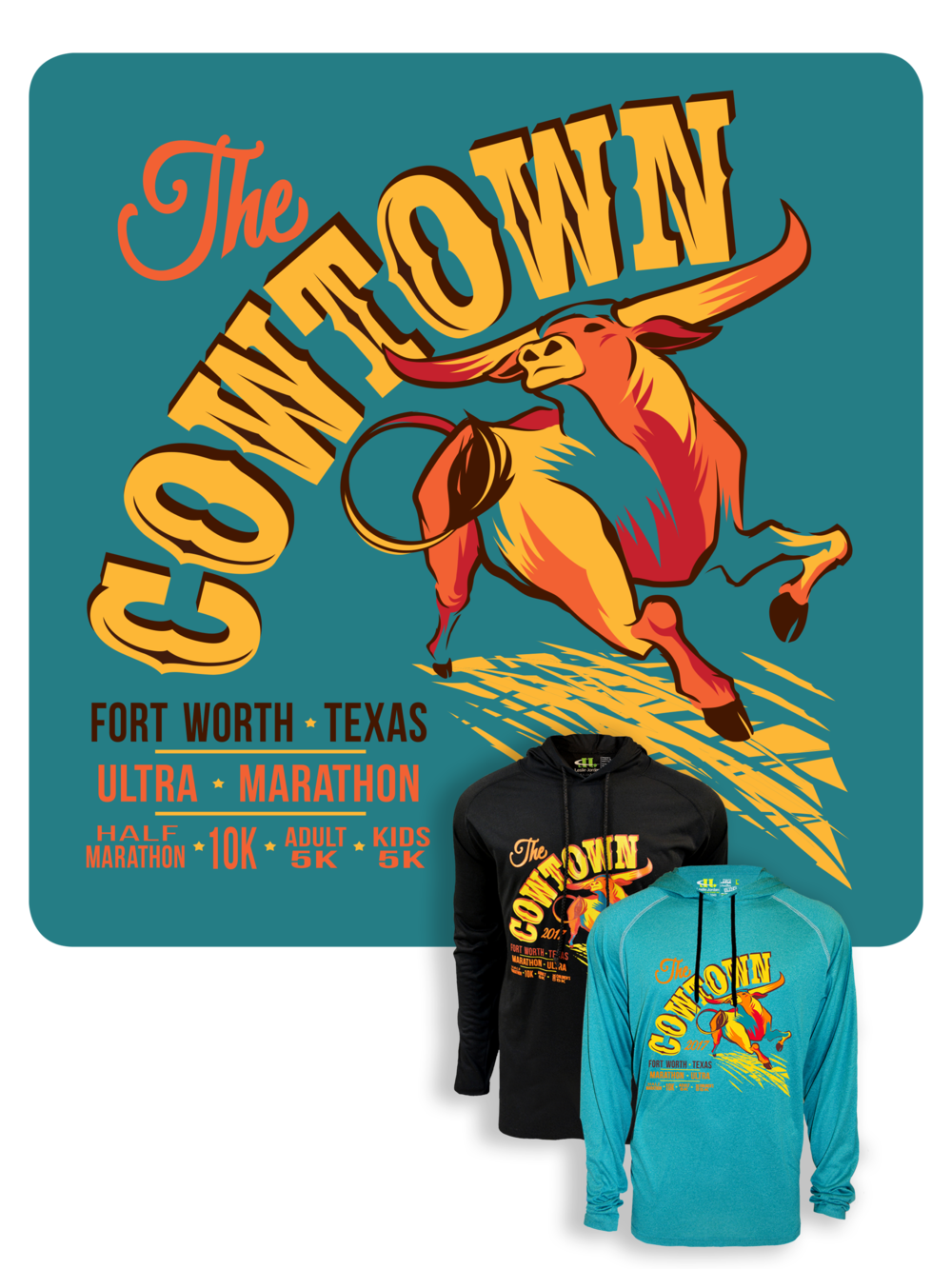 Cowtown Marathon Shirt