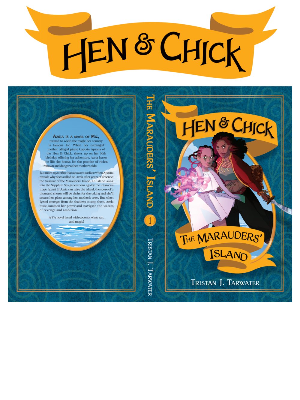 Hen & Chick Cover and Logo