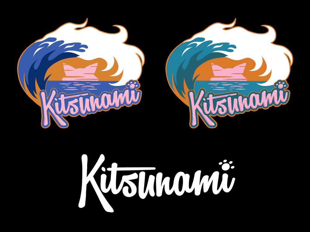 Kitsunami Logo