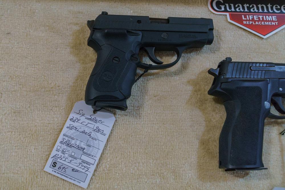 Sig Sauer p239 ct 9mm