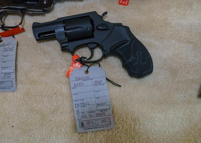 Taurus M85 38sp