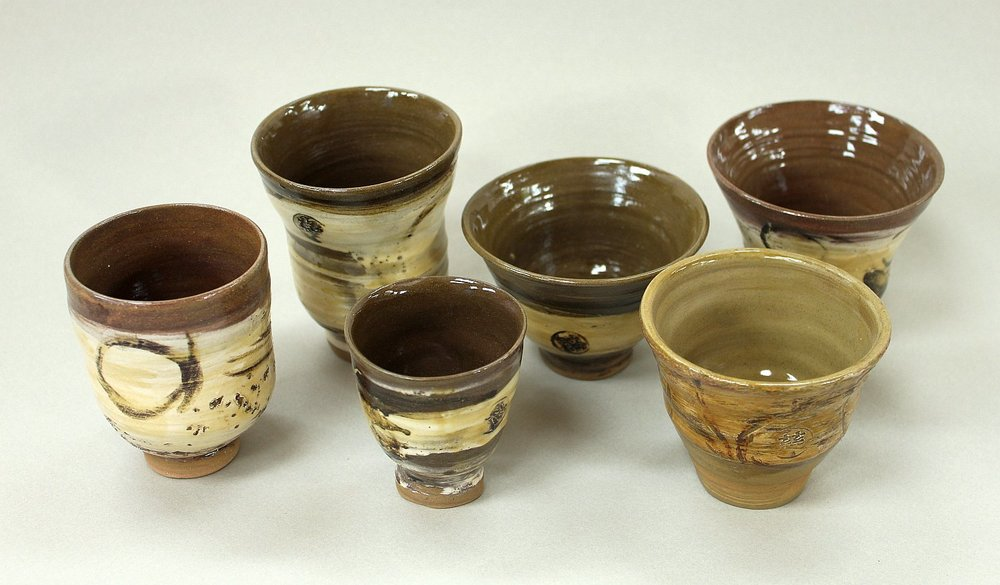 Japanese influenced cups