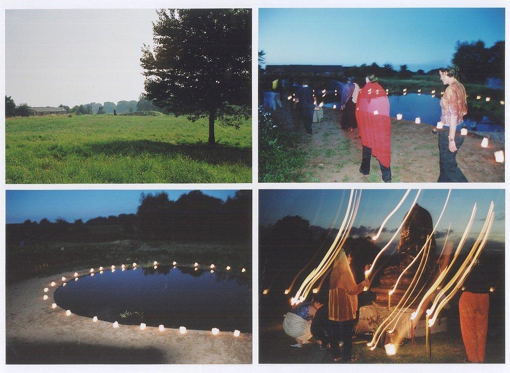 Pond at Taraloka Buddhist Retreat Centre, Shropshire