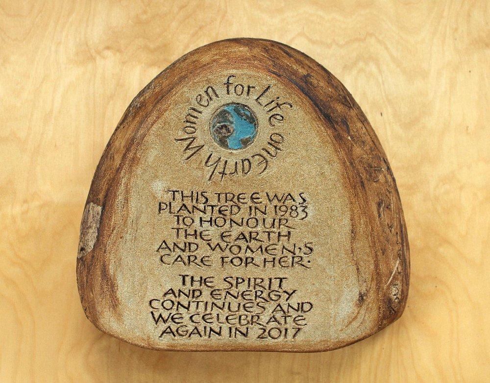 Copper Beech tree commemoration