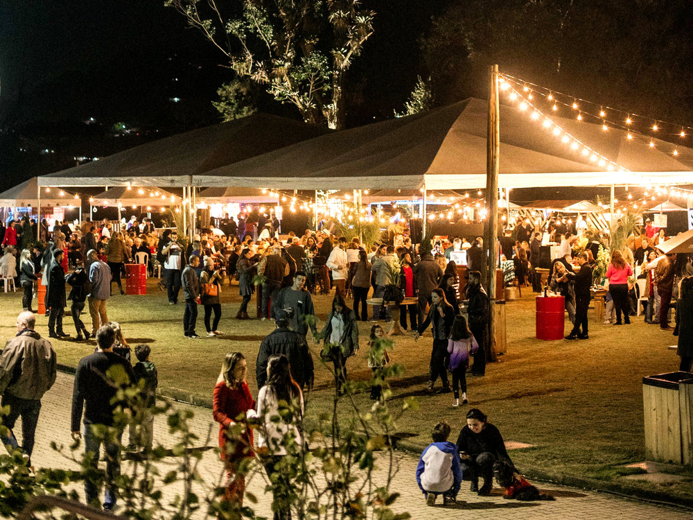A primeira edição do Vinho nas Alturas teve mais de 1200 convidados ao longo dos três dias do festival.  Foto: Mateus Montoni.