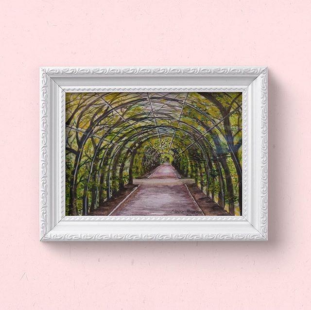 Snug Harbor Arch by Eithne Byrne. Available for sale. Let us know if you're interested.