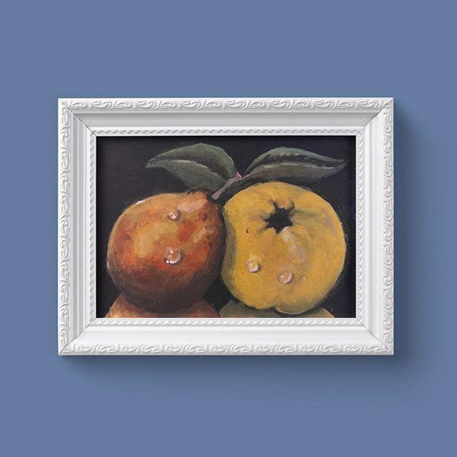 Fruit on Black by Eithne Byrne