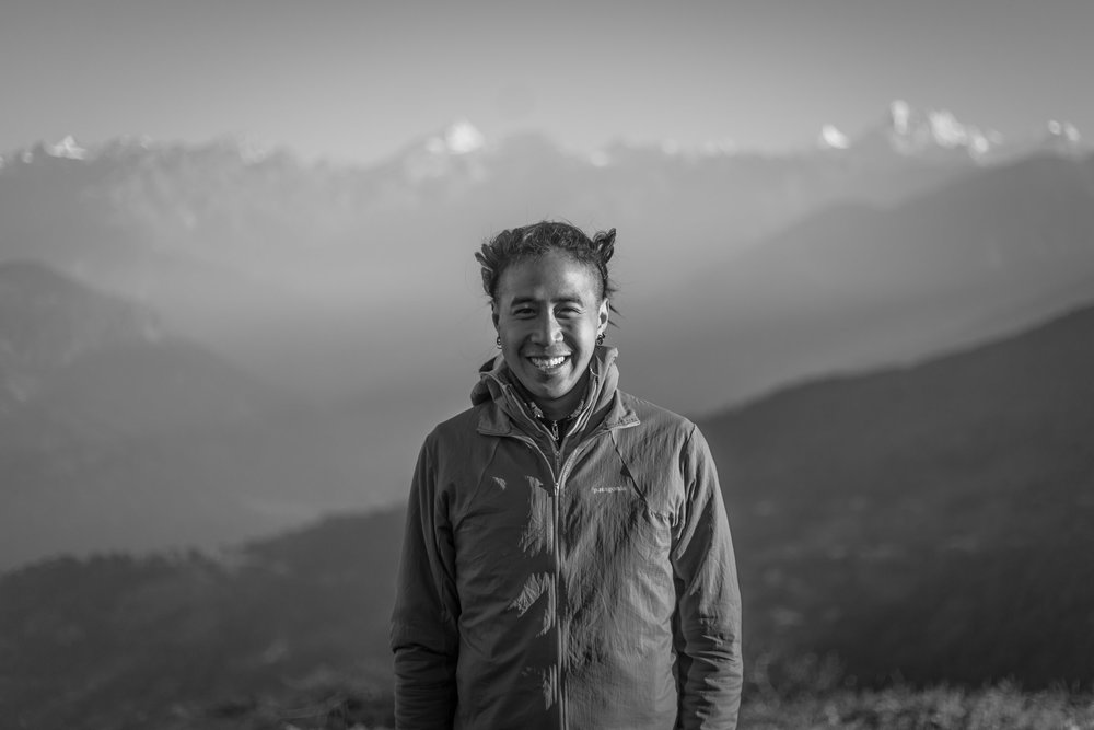 Nepal. October 2018. The Himalayas, always home, always in my mind and heart. Photo credit: Nina Raab