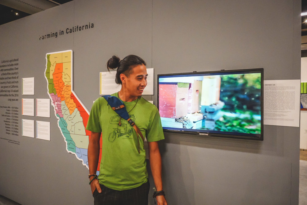 """  Free Your Inner Farmer  "" is the theme of the OC Fair in 2018.  My time-lapse video featuring my travels and the farms I worked on in 2013  got featured in the Museum of Agrarian Art."