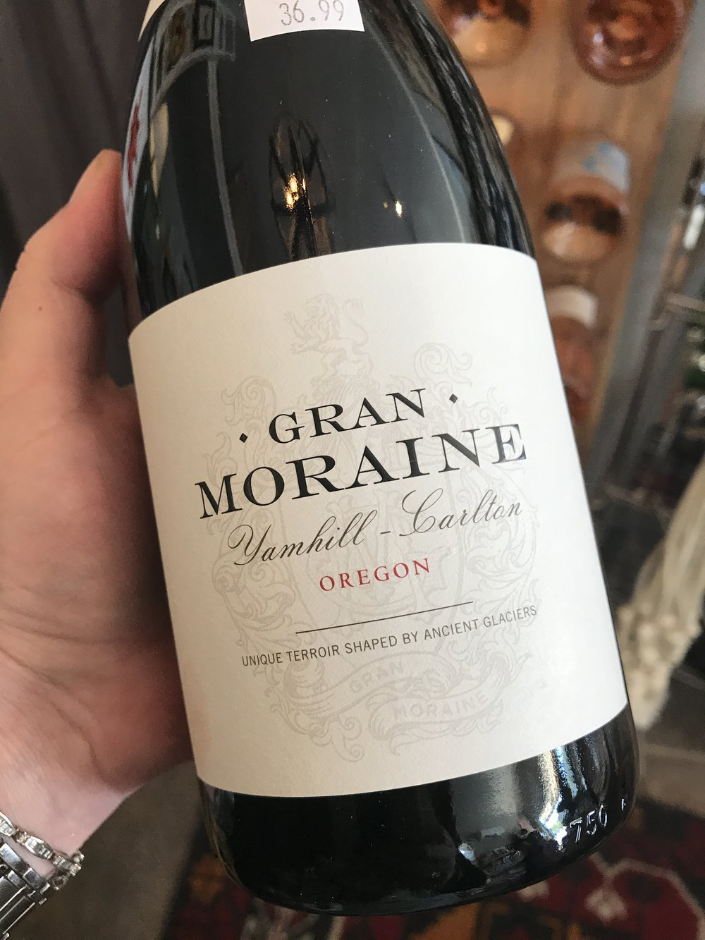 2013 Gran Moraine, Yamhill-Carlton: A darkness of flavor and texture—a Willakenzie sedimentary soil spice—carries through this supple pinot, with its scents of plum and espresso, its flavors taking on a mild amaro bitterness. With air, the red spectrum of fruit emerges, piercing the darkness, while supple tannins lead to the close. This is still evolving; for the cellar. 92 W&S 36.99
