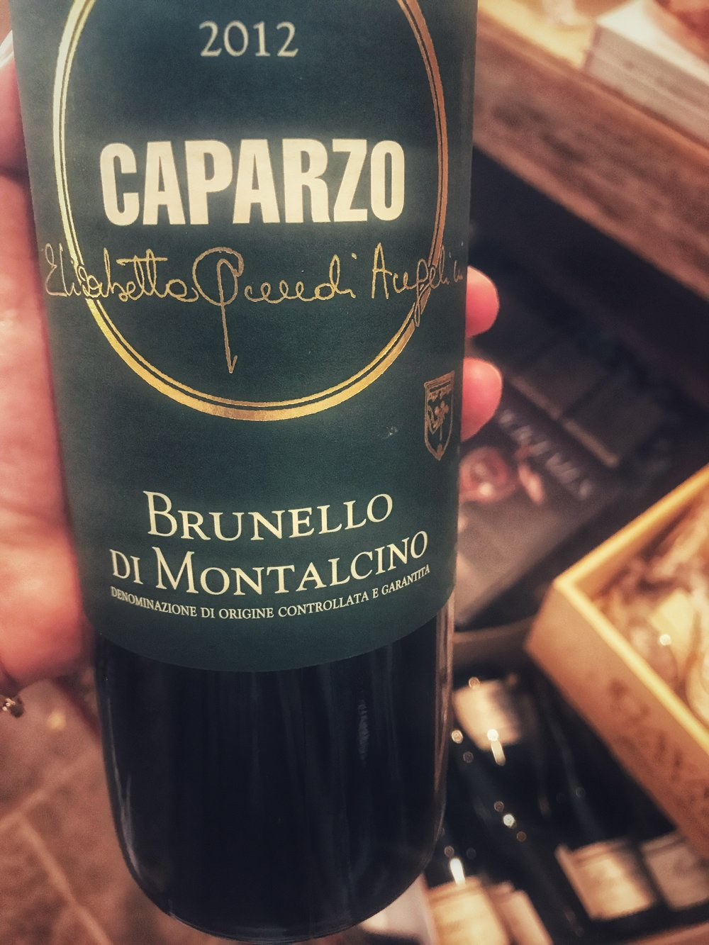 2012 Caparzo Brunello di Montalcino - $47.99 Critical Acclaim92 Wine Spectator: This is round and laced with cherry, currant, tobacco and iron flavors. Firms up quickly, with a fine matrix of tannins for support. Balanced overall, with a long finish of tobacco and iron. Drink through 2033.
