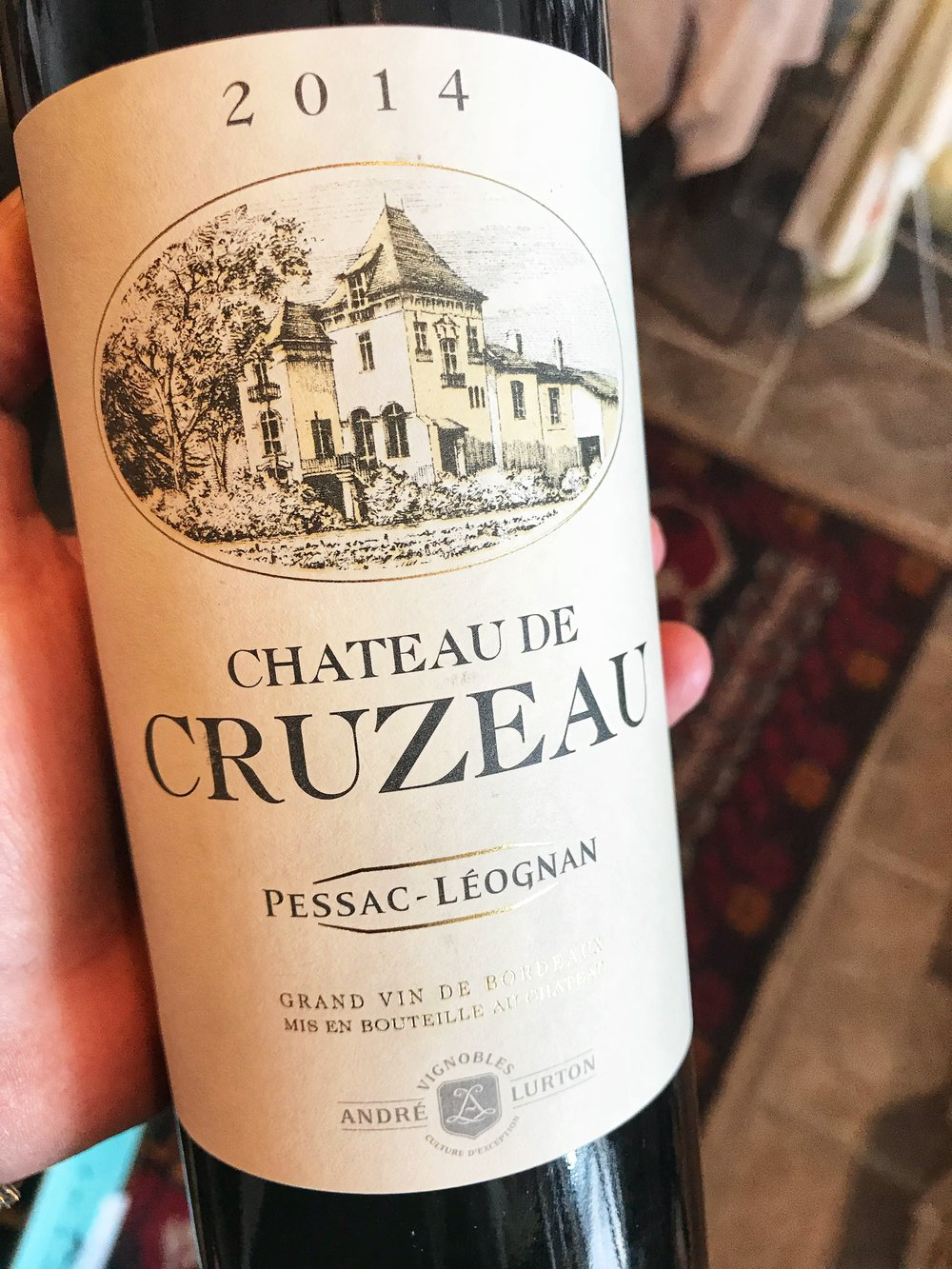 "2014 Chateau de Cruzeau, Pessac-Léognan: 91 Wine Advocate. The Château Cruzeau 2014 has an elegant, harmonious and complex nose, classically tailored but with good fruit intensity. The palate is medium-bodied with crisp tannin, delightful tobacco-tinged black fruit with a structured, masculine finish that is your typical ""classic claret"" made in accomplished fashion. I appreciate the style and terroir-expression already present here.  $29.99"