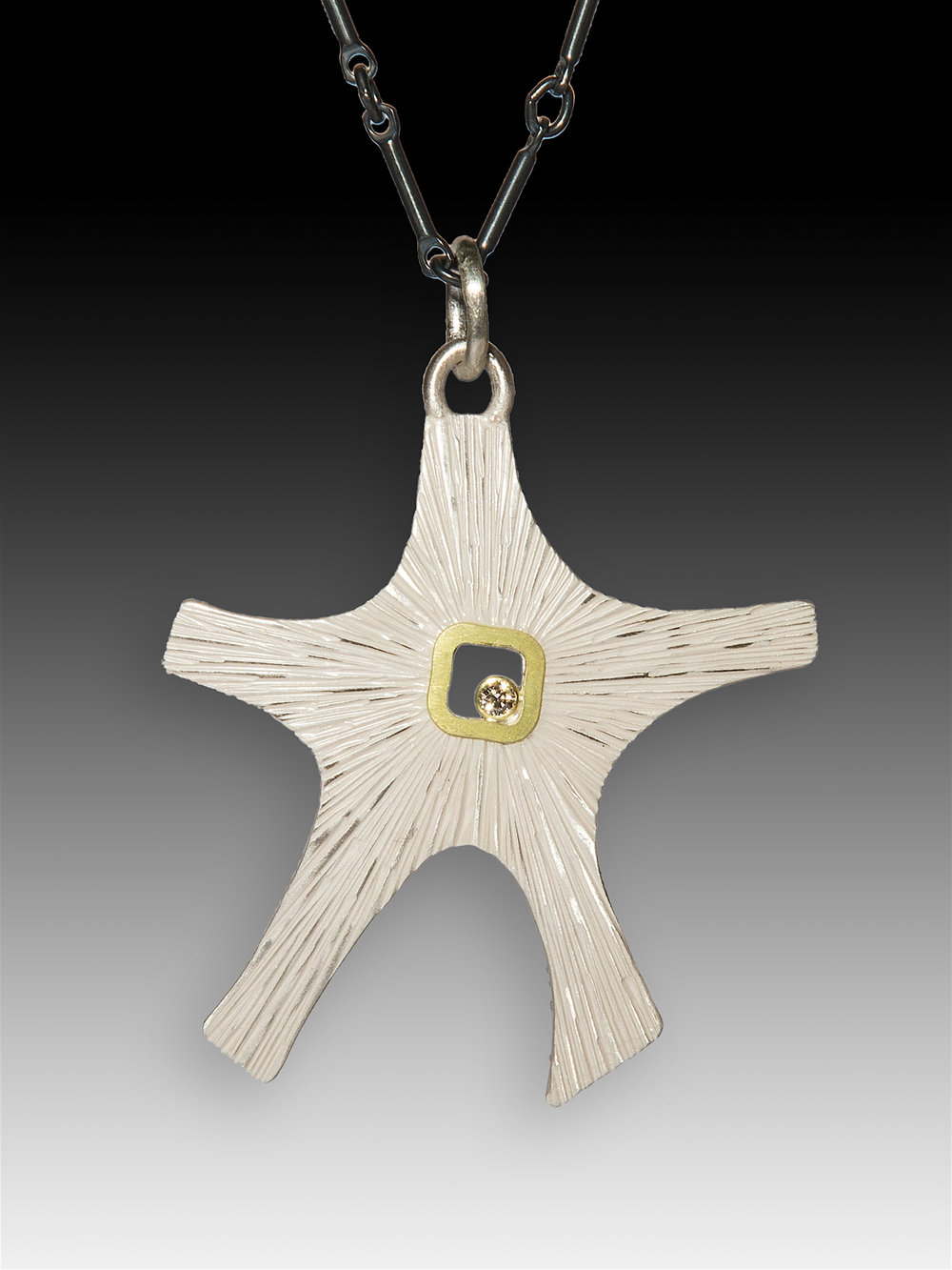 Bright Starfish Pendant