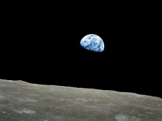 Bill Anders,  Earthrise , NASA, 1968