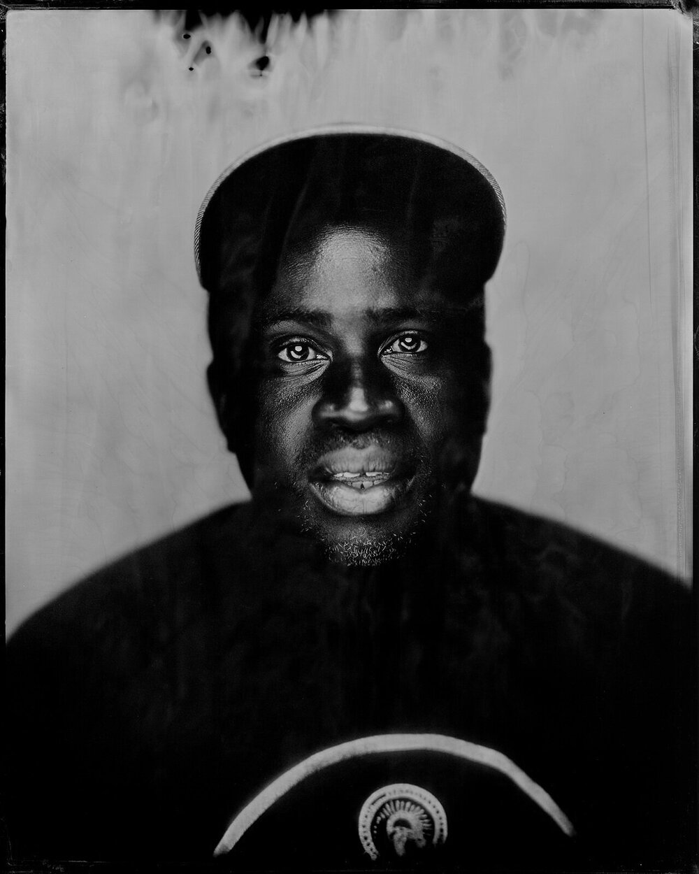 GUSDUGGER TINTYPE PHOTOGRAPHS   is a collaborative project by Birmingham-based photographers  CARY NORTON  +  JARED RAGLAND .       Roscoe Hall, Painter + Chef