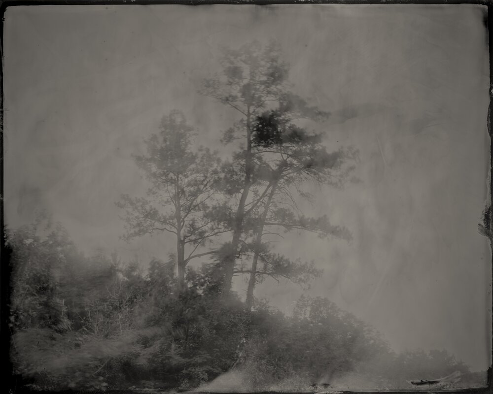 GUSDUGGER TINTYPE PHOTOGRAPHS   is a collaborative project by Birmingham-based photographers  CARY NORTON  +  JARED RAGLAND .    Bessemer Mounds, Jefferson County, Alabama,  2017